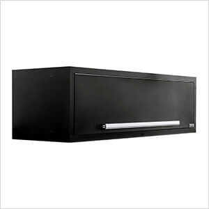 """2 x Fusion Pro Wall Mounted 62"""" Overhead Cabinets (Silver)"""