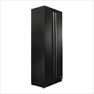 6 x Fusion Pro Tall Garage Cabinets (Black)