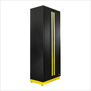 6 x Fusion Pro Tall Garage Cabinets (Yellow)
