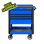 Extreme Tools EX Series Blue 33-Inch 4-Drawer Professional Tool Cart