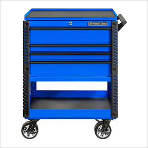 EX Series Blue 33-Inch 4-Drawer Professional Tool Cart