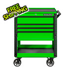 Extreme Tools EX Series Green 33-Inch 4-Drawer Professional Tool Cart