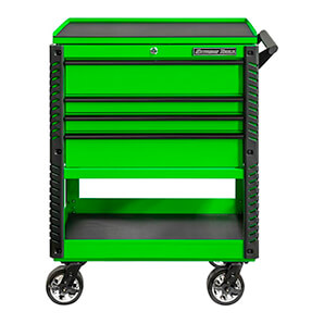 Ex Series Green 33-inch 4-drawer Professional Tool Cart