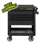 Extreme Tools EX Series Black 33-Inch 4-Drawer Professional Tool Cart