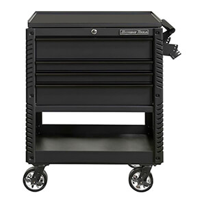 Ex Series Black 33-inch 4-drawer Professional Tool Cart