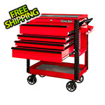 Extreme Tools EX Series Red 33-Inch 4-Drawer Professional Tool Cart