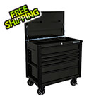 Extreme Tools EX Series Black 41-Inch 6-Drawer Tool Cart with Bumpers