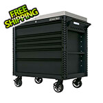Extreme Tools EX Series Black 41-Inch 6-Drawer Deluxe Slider Top Tool Cart