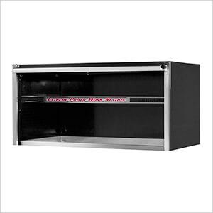 Professional Black 55-Inch Extreme Power Workstation Hutch