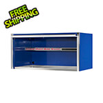 Extreme Tools Professional Blue 55-Inch Extreme Power Workstation Hutch