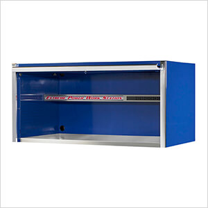 Professional Blue 55-Inch Extreme Power Workstation Hutch