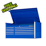 Extreme Tools Professional Blue 55-Inch 10-Drawer Tool Chest