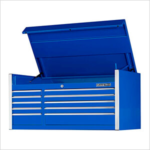 Professional Blue 55-Inch 10-Drawer Tool Chest