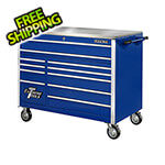 Extreme Tools Professional Blue 55-Inch 11-Drawer Tool Chest