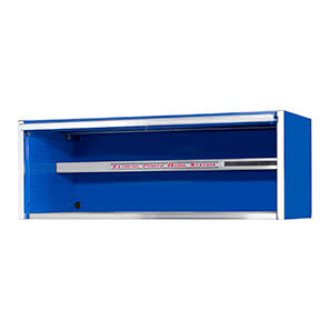 Professional Blue  72-inch Extreme Power Workstation Hutch
