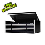 Extreme Tools Professional Black 72-Inch 15-Drawer Tool Chest