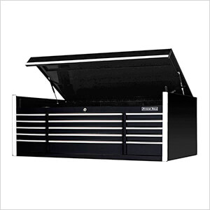 Professional Black 72-Inch 15-Drawer Tool Chest