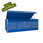 Extreme Tools Professional Blue 72-Inch 15-Drawer Tool Chest
