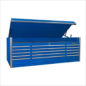 Professional Blue 72-Inch 15-Drawer Tool Chest