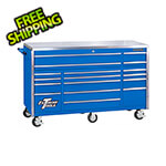 Extreme Tools Professional Blue 72-Inch 17-Drawer Roller Cabinet Tool Chest