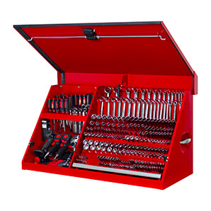 41-inch Red Portable Workstation