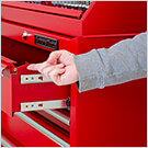 41-Inch Red 11-Drawer Rolling Tool Chest
