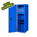 Extreme Tools RX Series 19-Inch Blue Side Locker Cabinet