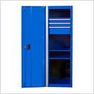 RX Series 19-Inch Blue Side Locker Cabinet