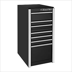 RX Series 19-Inch Black 7-Drawer Side Toolbox
