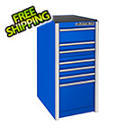 Extreme Tools RX Series 19-Inch Blue 7-Drawer Side Toolbox
