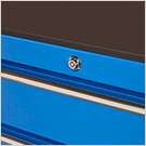 RX Series 19-Inch Blue 7-Drawer Side Toolbox