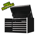Extreme Tools RX Series 41-Inch Black 8-Drawer Top Chest