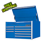Extreme Tools RX Series 41-Inch Blue 8-Drawer Top Chest