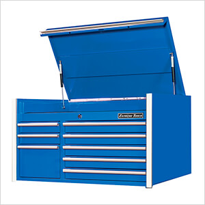 RX Series 41-Inch Blue 8-Drawer Top Chest