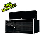 "Extreme Tools RX Series 55"" x 25"" Black Deep Professional Hutch"