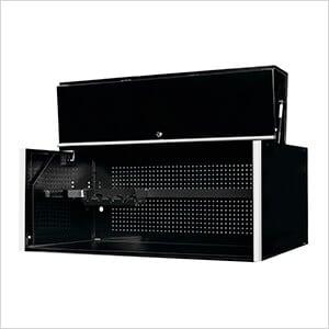 """RX Series 55"""" x 25"""" Black Deep Professional Hutch"""