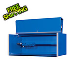 "Extreme Tools RX Series 55"" x 25"" Blue Deep Professional Hutch"