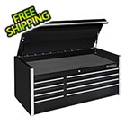 Extreme Tools RX Series 55-Inch Black 8-Drawer Top Chest