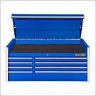 RX Series 55-Inch Blue 8-Drawer Top Chest