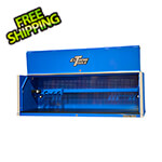 Extreme Tools RX Series 72-inch Blue Deep Triple Bank Hutch
