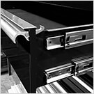 RX Series 72-Inch Black 12-Drawer Top Chest