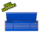 Extreme Tools RX Series 72-Inch Blue 12-Drawer Top Chest
