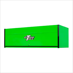 RX Series 72-Inch Green Hutch with Black Trim