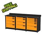 Swivel Storage Solutions 3-Piece Garage Storage System