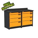 Swivel Storage Solutions 2-Piece Garage Storage System