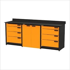 3-Piece Garage Storage System