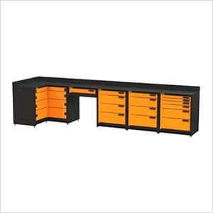 5-Piece Corner Garage Storage System
