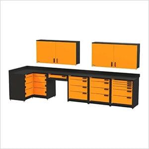 7-Piece Corner Garage Storage System
