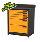 "Swivel Storage Solutions 6-Drawer 30"" Tool Storage Unit"