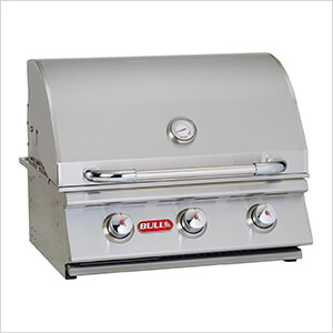 Steer 24-Inch 3-Burner 45K BTUs Grill Head (Liquid Propane)